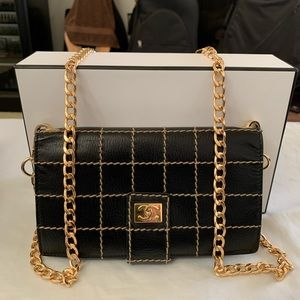 CHANEL Wild Stitch Wallet on Chain Crossbody
